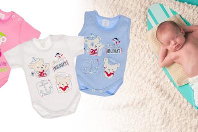 Jak ubierać noworodka latem? WYBÓR UBRANEK!
