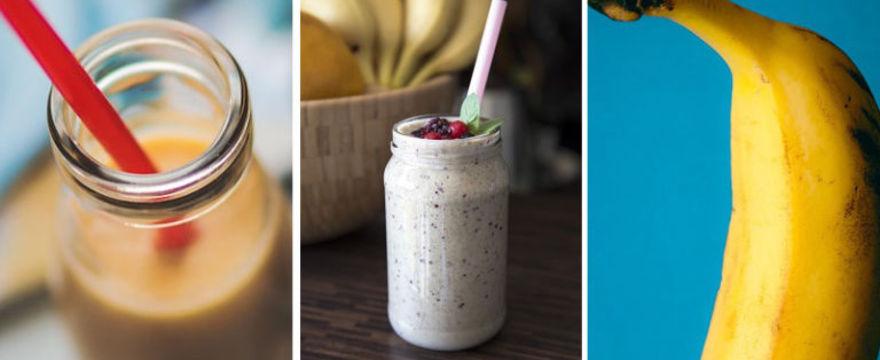 Bananowa metoda na…odchudzanie? Sprawdź kolorowe koktajle dietetyczne!