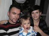 urodzinki klopsiarza(Krzysia) ,familia w komplecie